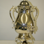 silver samovar